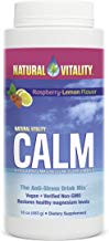 Natural Vitality Calm, The Anti-Stress Drink Mix, Magnesium Supplement Powder, Raspberry Lemon - 16 ounce