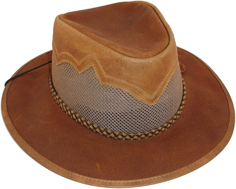 Head Choice 'N Home Hat Sirocco Manufacturer regenerated product Leather