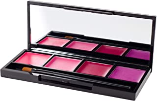Coastal Scents Lip Quad, Juicy Pink