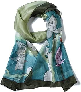 Donna Sciarpa multi colore 100/% Viscosa come seta cotone vari colori nuovi