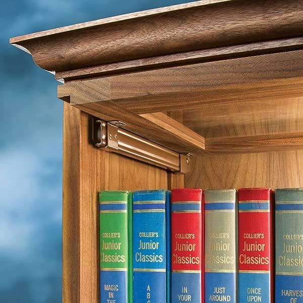 9 Barrister Bookcase Door Slides Pair