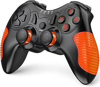 Switch コントローラー BEBONCOOL スイッチ コントローラー HD振動 無線 ニンテンドー スイッチ 対応 任天堂 プロ コントローラー オレンジ…
