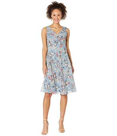 LAUREN Ralph Lauren Floral Georgette Shift Dress Women