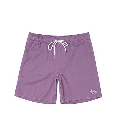 RVCA Opposites Elastic Shorts (Mauve) Men