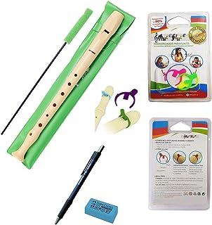 PACK LOTE Flauta dulce Hohner Melody 9508 + 3 Sordinas Muteflute REDUCE INSONORIZA el 80% o el 100% del sonido de tu flauta + REGALO