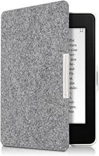 kwmobile 対応: Amazon Kindle Paperwhite ケース - 電子書籍カバー フェルト製 オートスリープ マグネット付き reader 保護ケース