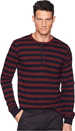 Red/Navy Stripe