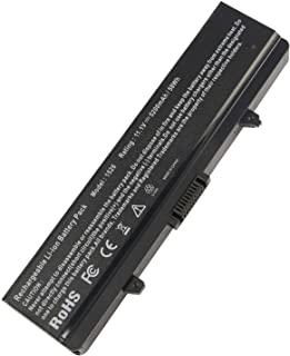 Laptop Battery for Dell Inspiron 1526 1525 1545 1546 1750 1440 Pp29l Pp41l Fits Gw240 Rn873 M911g M911 X284g K450n Replacement [Li-ion 6-Cell 5200mAh/58WH]