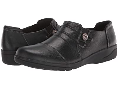 Clarks Cheyn Inca (Black Leather) Women