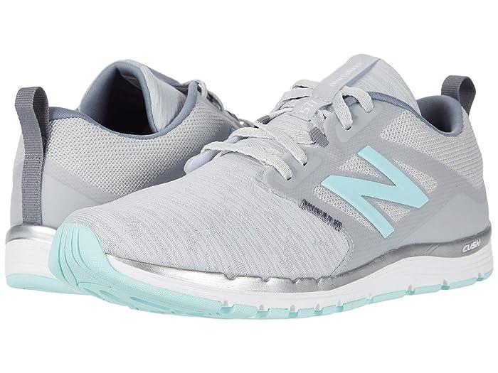 New Balance  577v5 (Light Aluminum/Gunmetal/Bali Blue) Womens Shoes
