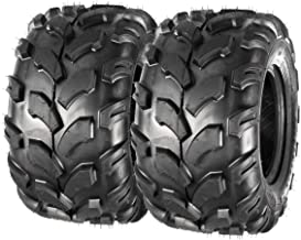 MaxAuto Sport ATV Tires 18x9.5-8 18x9.50x8 Lawn Mower Off-Road UTV Tire 4PR Turf Tires P311 Set of 2