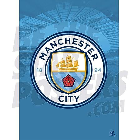 Manchester City FC 2020//21 Raheem Sterling A3 Fu/ßball-Poster//Druck//Wandkunst offizielles Lizenzprodukt erh/ältlich in den Gr/ö/ßen A3 und A2 A3