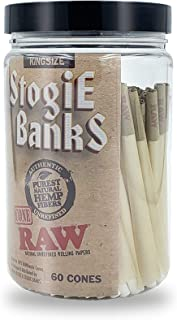 RAW Pre-Rolled Cones with Tips - 60 Pack - King Size Classic