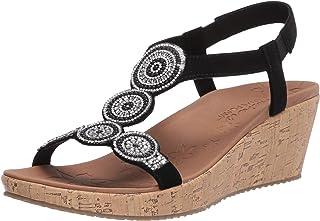 Skechers BEVERLEE - DATE GLAM womens Wedge Sandal
