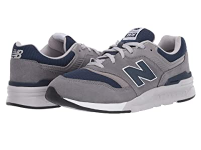 New Balance Kids 997H Essentials (Big Kid) (Castlerock/Natural Indigo) Boys Shoes