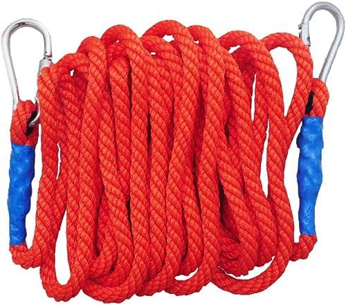 Corde Escalade De Plein Air Homme Araignée Corde Alpinisme Corde De Levage échapper Résistant à Abrasion Corde,rouge-5m16mm