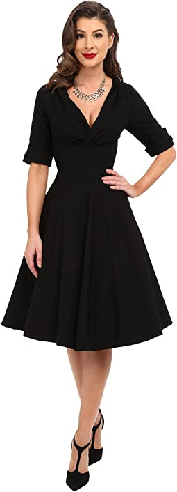 c464b4453b08 3/4 Sleeve Delores Swing Dress