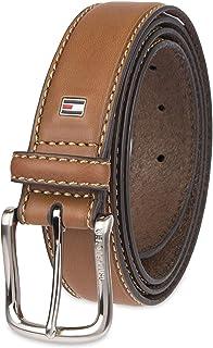 Tommy Hilfiger 11TL02X038 200 Men's Casual Belt brown logo Size 36