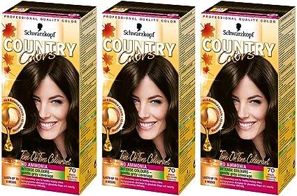 Tinte Schwarzkopf Country Colors: Amazon.es: Belleza