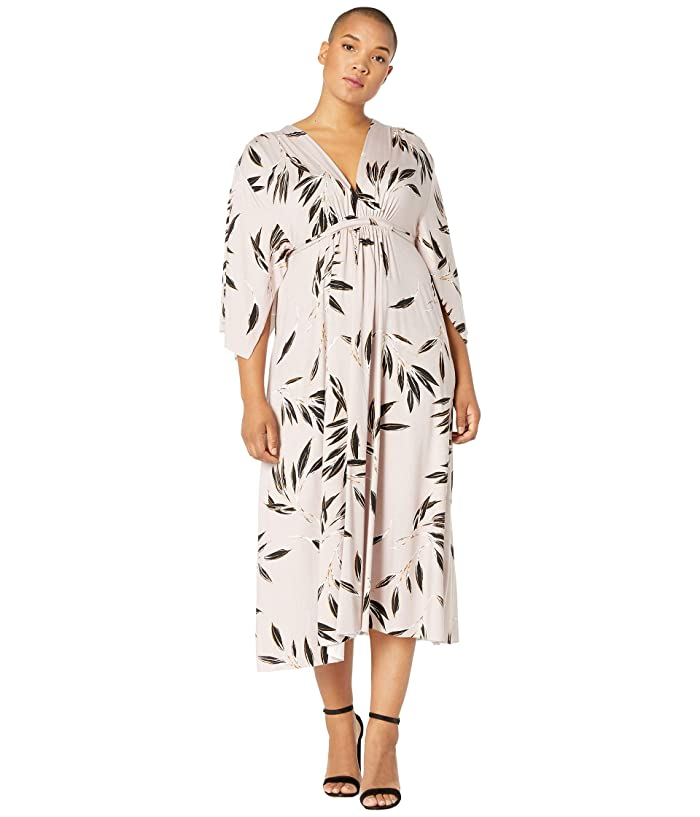 Rachel Pally Plus Size Mid-Length Caftan Dress (Cane) Women's Dress