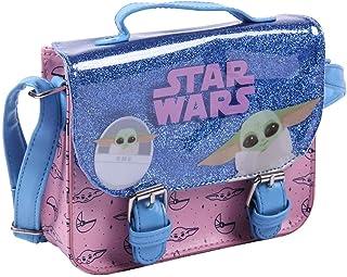 CERDÁ LIFE'S LITTLE MOMENTS Mädchen 2100003344 The Mandalorian Rucksack Kinder Umhängetasche Offizielle Star Wars Lizenz, ...