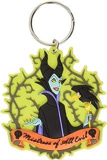Disney Villains Maleficent Soft Touch PVC Keychain Key...