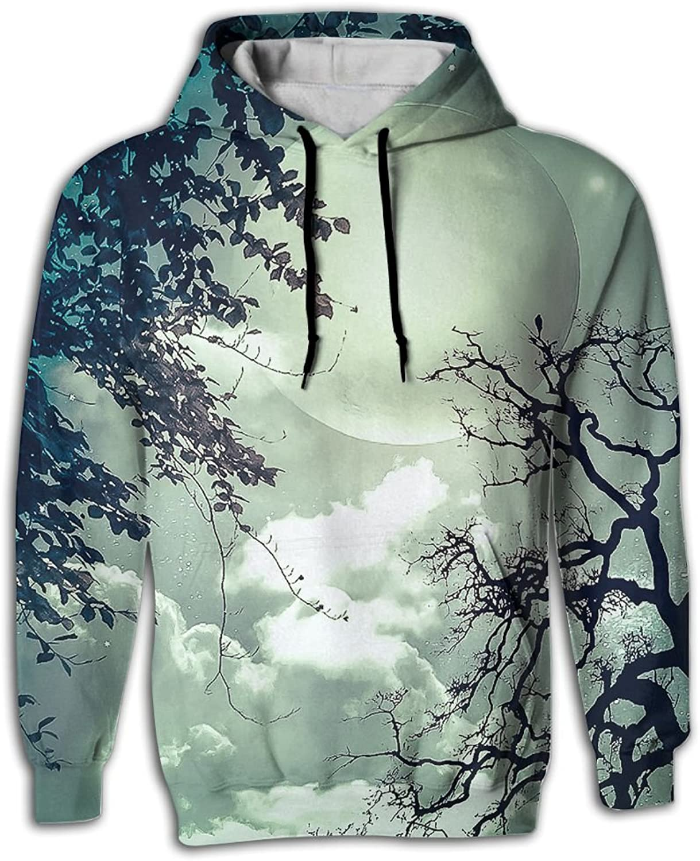 9188659e0 Full Moon Man Fashion Hoodie Sweatshirts Hooded Sweater Sweater Sweater With  Pocket 3D Print 7f088e