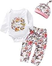 Baby Girl Clothes Ruffle Princess Heart Print T-Shirt Floral Pants with Headband 3Pcs Outfits Sets