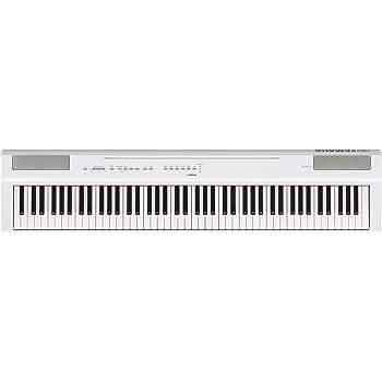 ヤマハ YAMAHA 電子ピアノ Pシリーズ 88鍵盤 ホワイト P-125WH