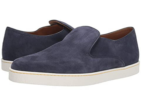 John Lobb Haven Suede Slip-On Sneaker