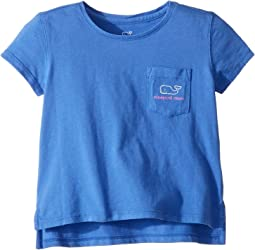 Short Sleeve Vintage Whale Pocket T-Shirt (Toddler/Little Kids/Big Kids)