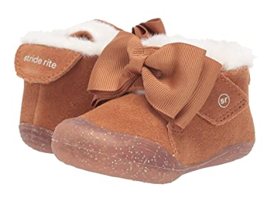 Stride Rite SR Campbell (Infant/Toddler) (Chestnut) Girls Shoes