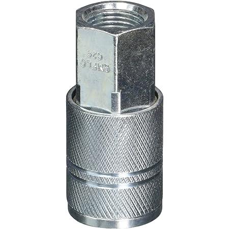 Amflo C26 Coupler 0.38 3//8 I//M Design 3//8 FNPT Steel