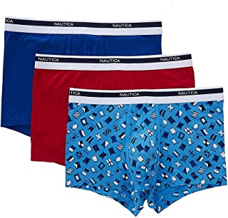 Nautica Men's Classic Underwear Cotton Stretch Trunk