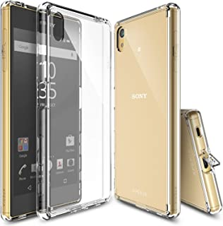 Xperia Z5 ケース Ringke FUSION クリアケース 透明 液晶保護フィルム付き (Clear)