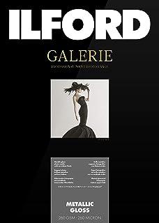ILFORD Galerie Prestige Metallic Gloss Photographic Paper, 260gm, A4, 25Sheets.