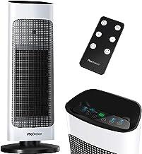 Pro Breeze Radiateur Soufflant Colonne 2000W avec télécommande et écran LED, Chauffage d'appoint, Mode ECO économe en éner...