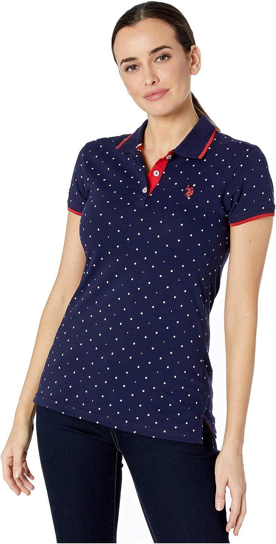 U.S. Polo Assn. Dot Print Polo Shirt