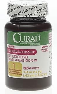 Medline CURAD Sterile Iodoform Packing Strips 1/4