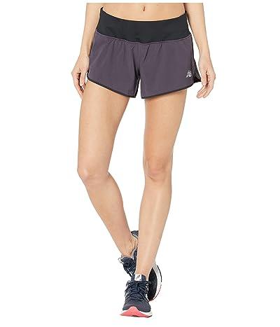 New Balance 3 Impact Shorts (Iodine Violet) Women