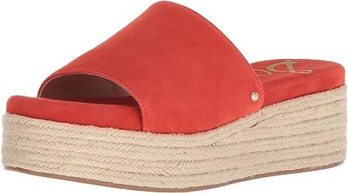 Sam Edelman Wohommes Weslee Slide Sandal, Sandal, Candy rouge, 6.5 M US  gros pas cher