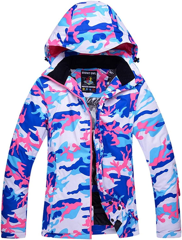 UICICI Winddichte Damen Skijacke für Outdoor-warme Jacke