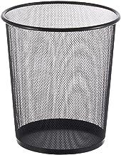 Recycling Bin Mesh Trash Can Rubbish Bin for Bathroom Kitchen Wastebasket Round Big Opening Trash Bin Without Lid Trash Co...