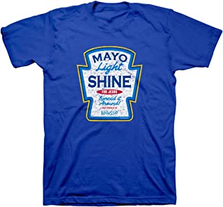 Men's Mayo Light Shine T-Shirt - Royal Blue -