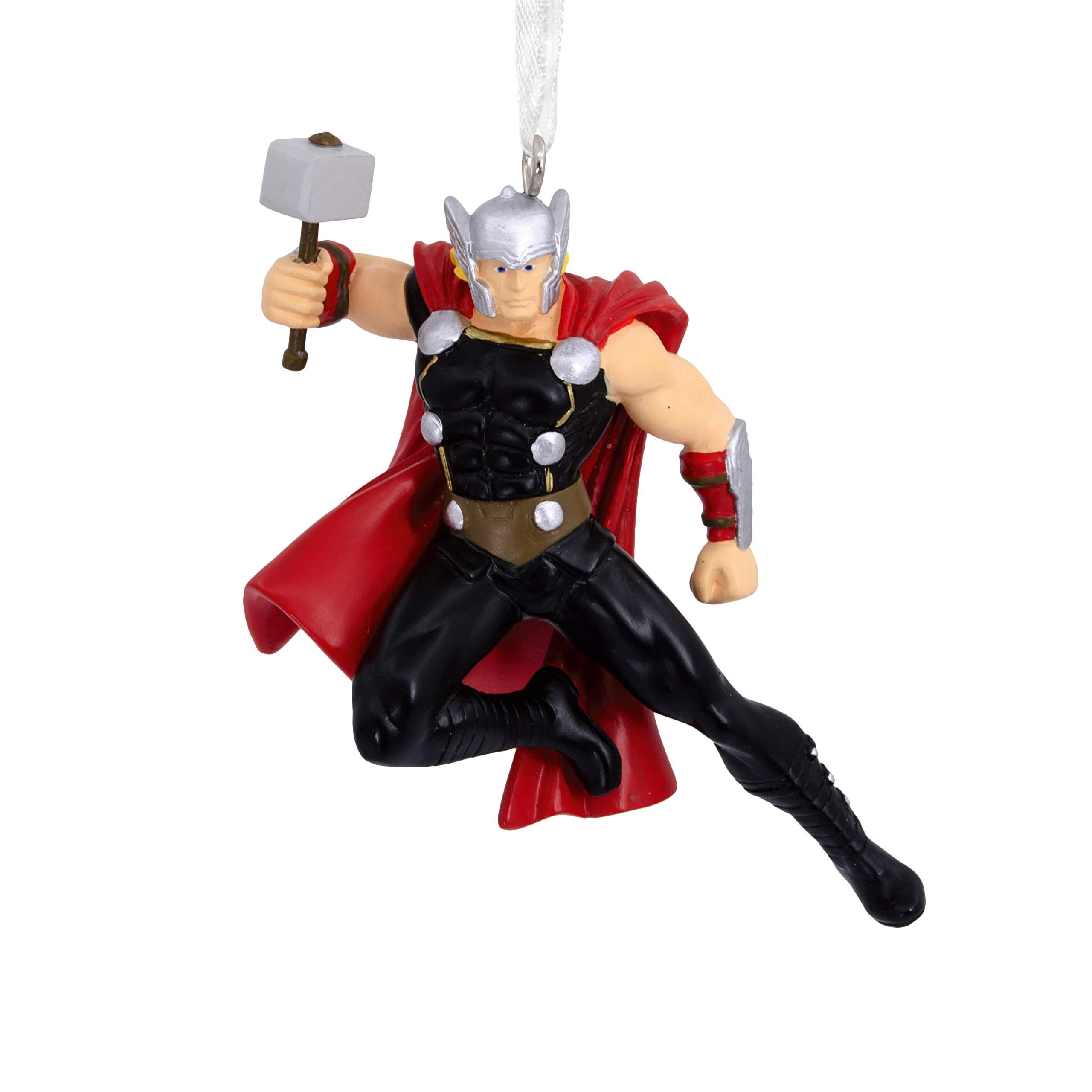 Hallmark Christmas Ornaments, Marvel Thor With Mjolnir Ornament