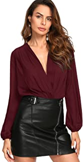 wrap blouses for women