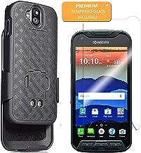 kyocera Duraforce Pro Case E6810, E6820, E6830 Shell Holster Combo With Belt Clip Black Casetek