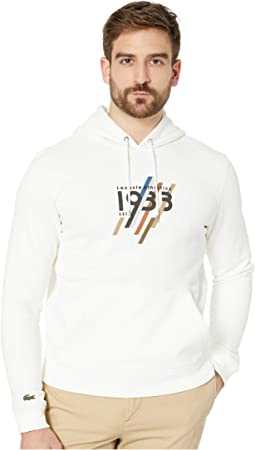 "Long Sleeve ""1933"" Graphic Pullover Hoodie"