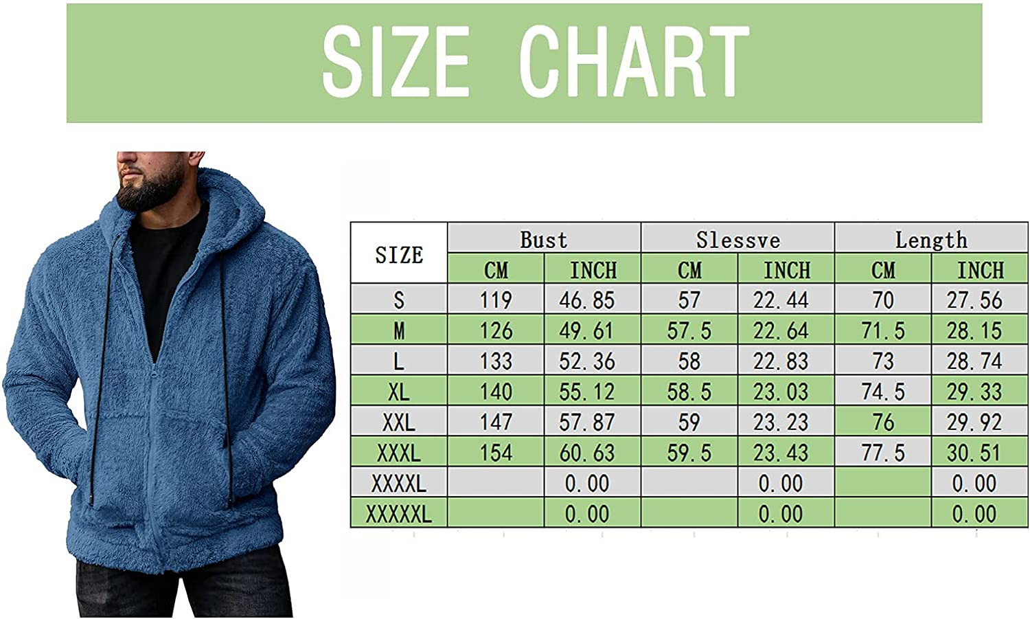 XXBR Fuzzy Sherpa Pullover for Mens, Front Placket Button Stand Collar Fluffy Cozy Fall Winter Warm Fleece Sweater