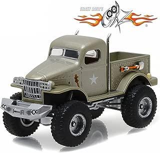 Greenlight 1941 Military 1/2 Ton 4x4 Pick Up Truck SGT. Rock Stacey David's Gearz (2010-Current) TV Series 1/64 44750 D